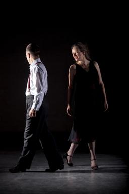Glasgow Tango tutors Alistair and Shona dancing 4